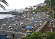 Playa de la Arena Beach in Tenerife
