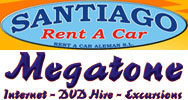 Santiago Rent a Car www.rentacarsantiago.com and Megatone