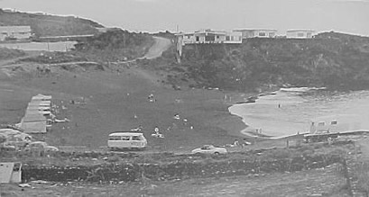 Playa de la Arena Beach 1970