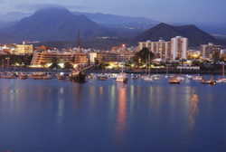 Los Cristianos harbour