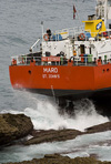 "Ship ""Maro"" aground in Northern Spain"