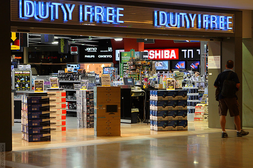 A change Duty free allowance