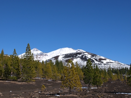 snow-on-teide